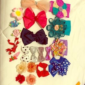 Girls Headbands and bows